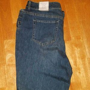 Chicos Platinum Flare Jeans 2.5 NWT